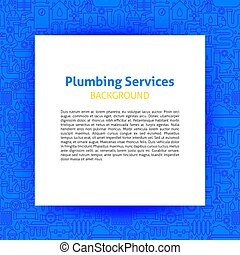 Plumbing Services Paper Template