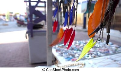 plume, coloré