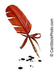 plume, penne