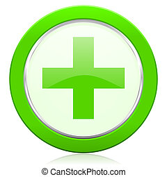 plus icon cross sign