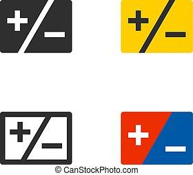 Plus minus symbol