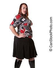 Plus Sized Model - Plus sized fashion model