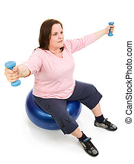 Plus Sized Pilates Workout