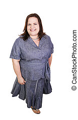 Plus Sized Professional - Pretty plus sized businesswoman....