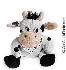plush cow - toy cow
