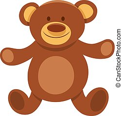 plush teddy bear cartoon character