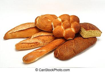 plusieurs, pains
