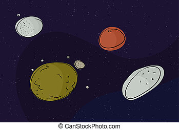 Pluto and Other Dwarf Planets - Dwarf planets Eris, Pluto,...