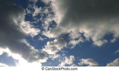 pluvieux, nuages, défaillance, temps