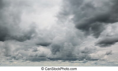 pluvieux, nuages, voile