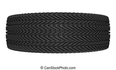 pneu, branco