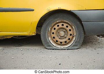 pneu plano