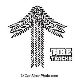 pneu traque