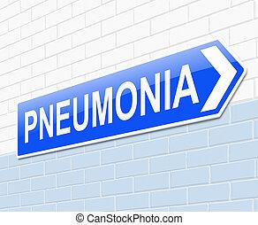 pneumonia, concept.