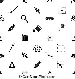 počítačová grafika, temný i kdy běloba, seamless, model, eps10