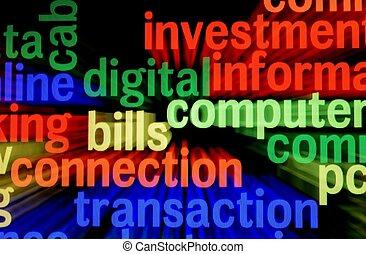 połączenie, dzioby, transakcja