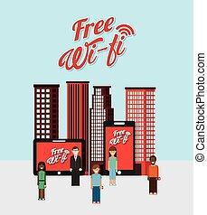 połączenie, wifi