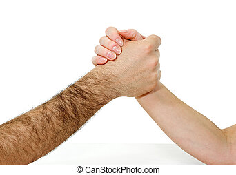 połączone ręki
