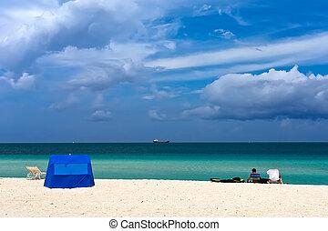południowa plaża, miami