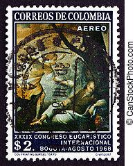 poštovné, 1968, dupnutí, prorok, elias, kolumbie, sen