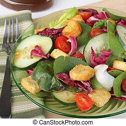 pożywny, sałata