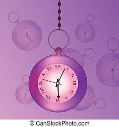 poche, horloge