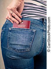 poche, passeport