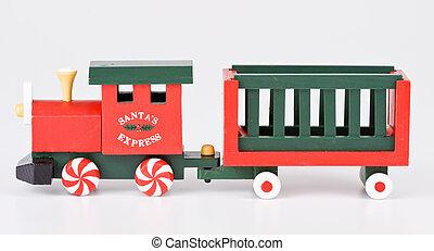 pociąg, boże narodzenie