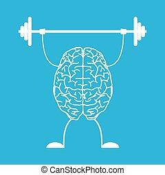 pociąg, brain., twój