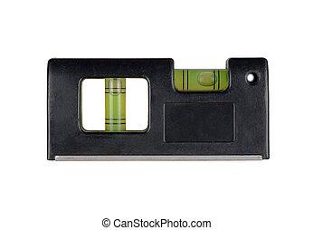 Pocket black level isolated on white background