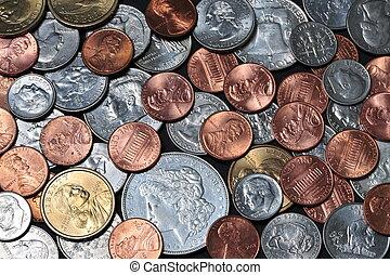 Pocket Change - Pocket change, cents, dimes, nickles, ...