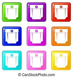 Pocket design set 9