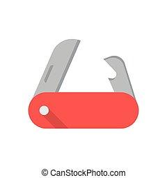 Pocket Knife Vector Icon