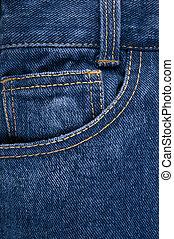 pocket on jeans