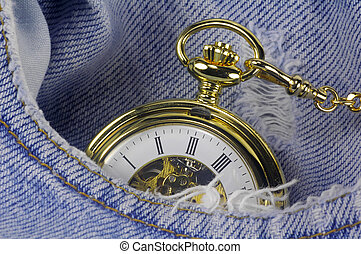 Pocket Watch 2 - Pocket Watch in a Pocket