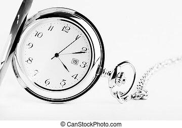 A fancy pocket watch