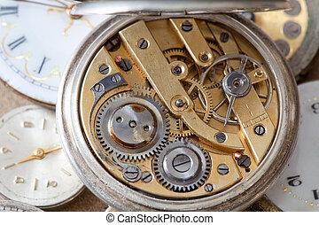 Pocket watch inside