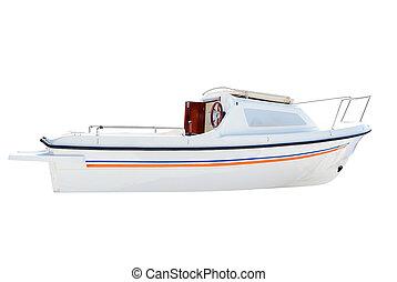 poco, blanco, barco