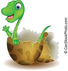 poco, dinosauro, nascita