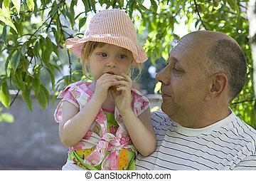 poco, girl&grandpa