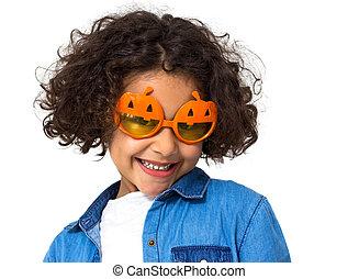 poco, halloween, ragazza