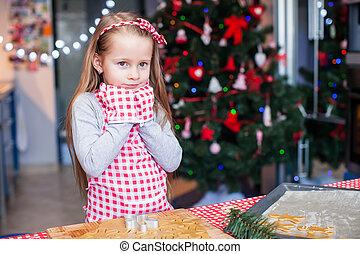 poco, hornada, llevó, galletas, manoplas, pan de jengibre, ...