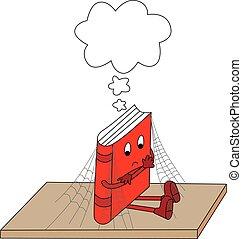poco, libro, ilustración