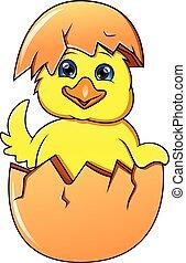 poco, lindo, huevo, el tramar, pato