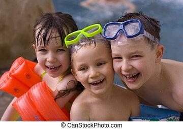 poco, nuotatori