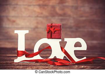 poco, parola, regalo, legno, amore, tavola.
