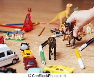poco, piso, niños, lío, libre, mano, juguetes, educación, juego, hogar