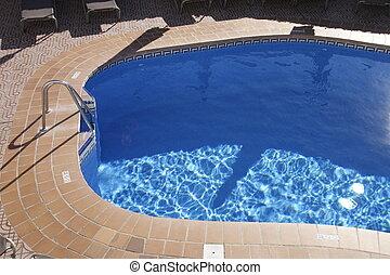 pocsolya, úszás