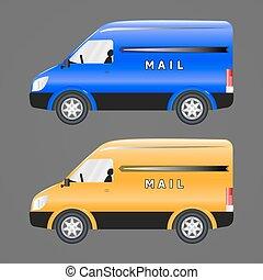 pocztowy, pojazd