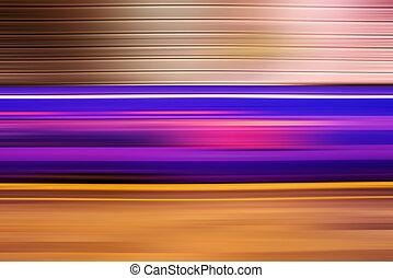 pod ziemią pociąg, abstrakcyjny, plama ruchu